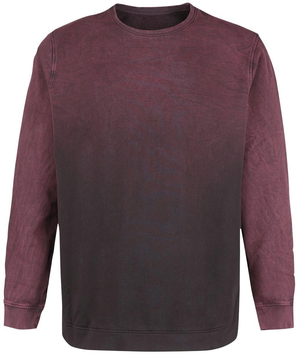 Outer Vision Man's Sweat Shirt Joe Sweatshirt weinrot 10657-OV Man's Sweat-Shirt Joe calipo wine