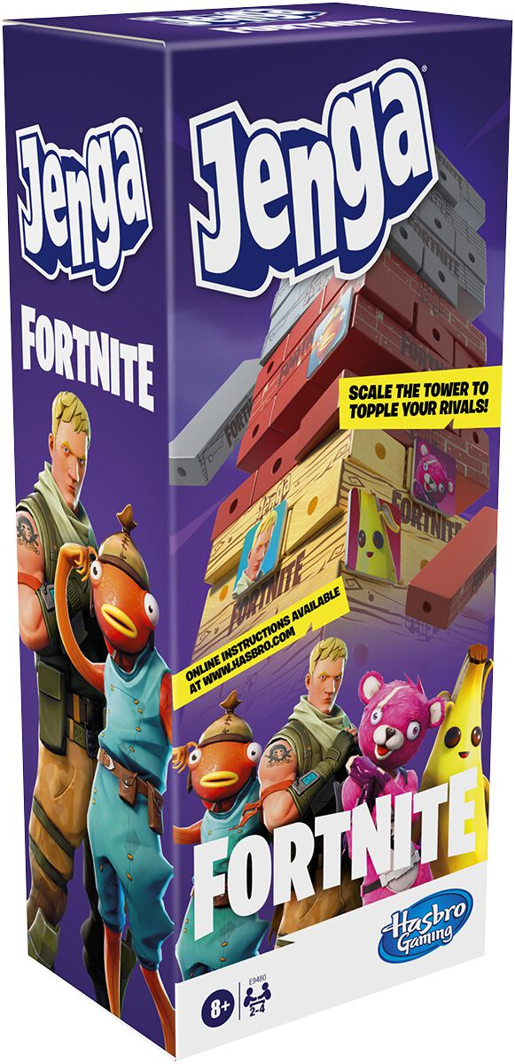 Image of Fortnite Jenga Brettspiel Standard