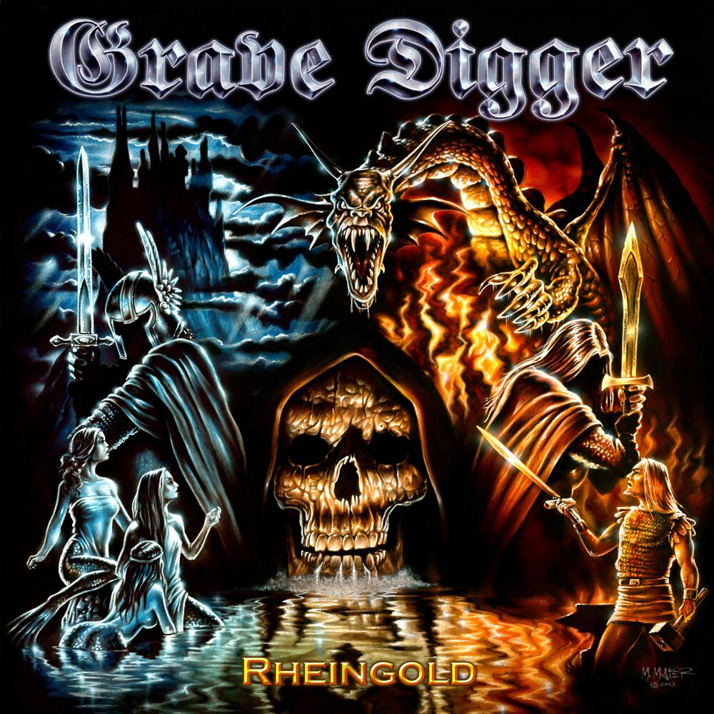 Grave Digger Rheingold CD multicolor MV0247
