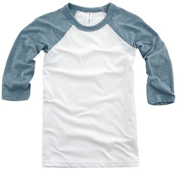 Youth ¾ Sleeve Baseball Tee