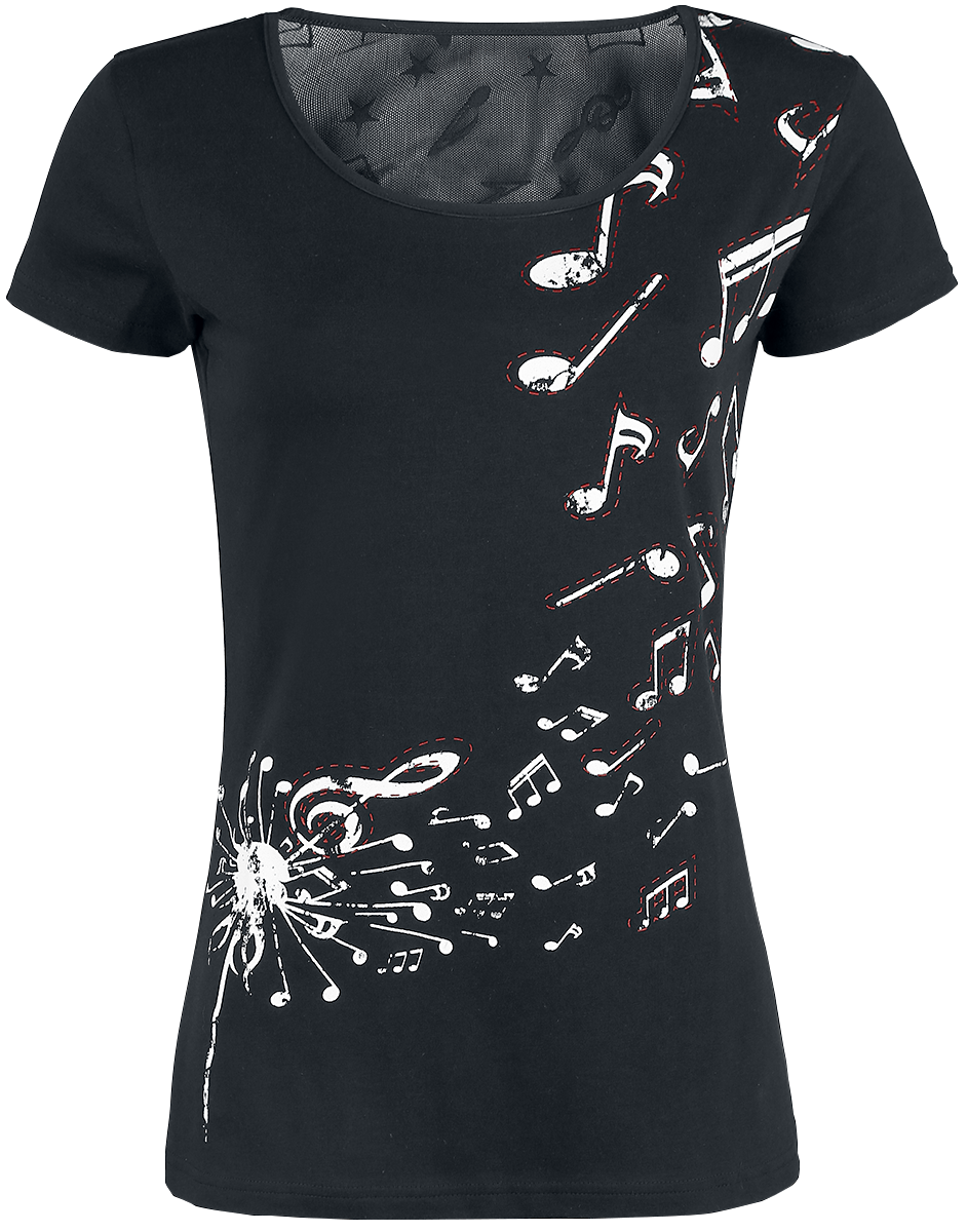 Full Volume by EMP - Keep Me Going - Girls shirt - black image