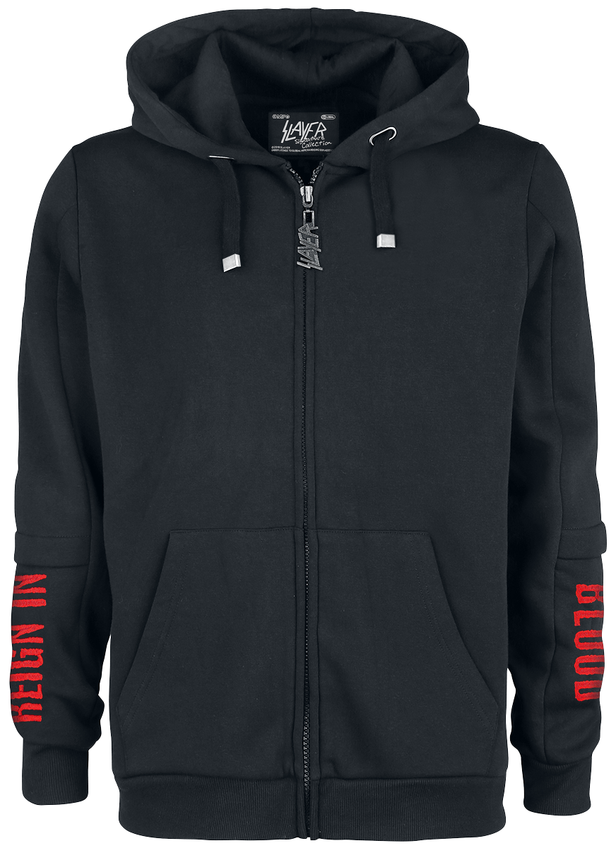 Slayer - EMP Signature Collection - Hooded zip - black image