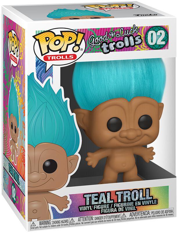 Teal Troll Vinyl Figur 02