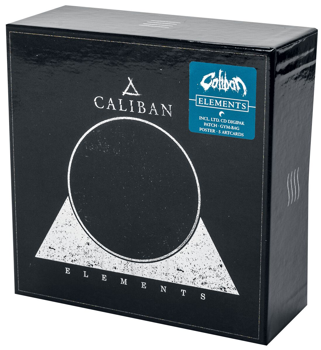 Image of Caliban Elements CD & Patch Standard