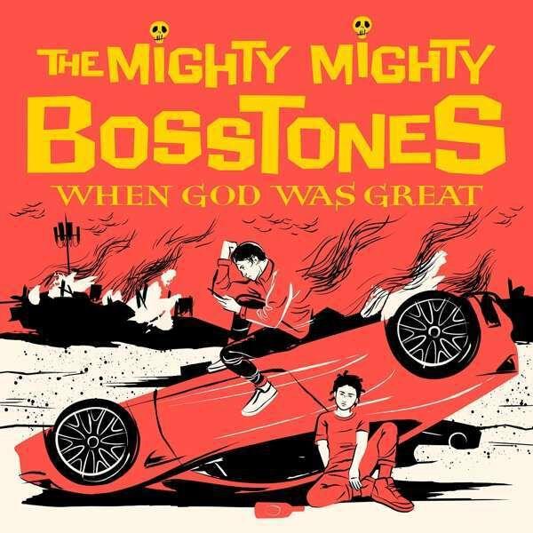 Mighty Mighty Bosstones When god was greaat LP splattered 05208401