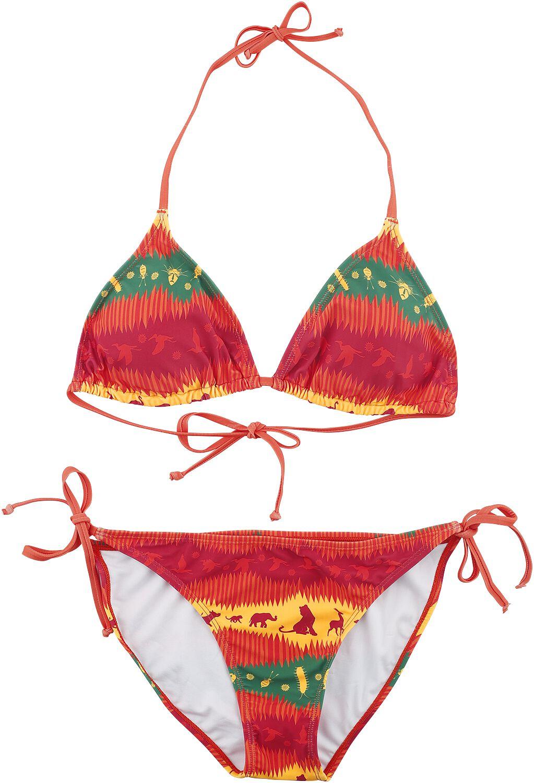 Image of Der König der Löwen Wild Bikini multicolor