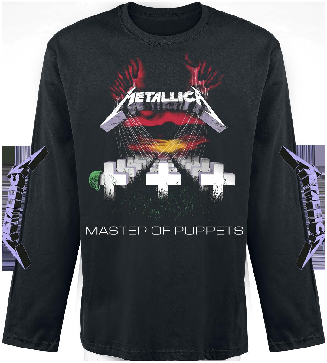 Metallica - Master Of Puppets - Longsleeve - black image
