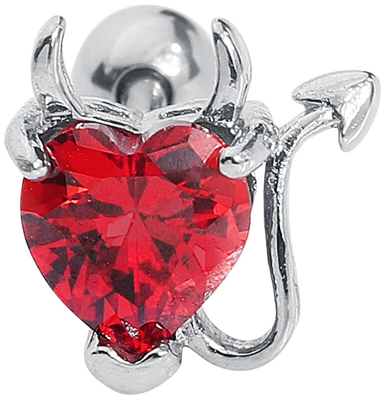 Devil Heart Barbell