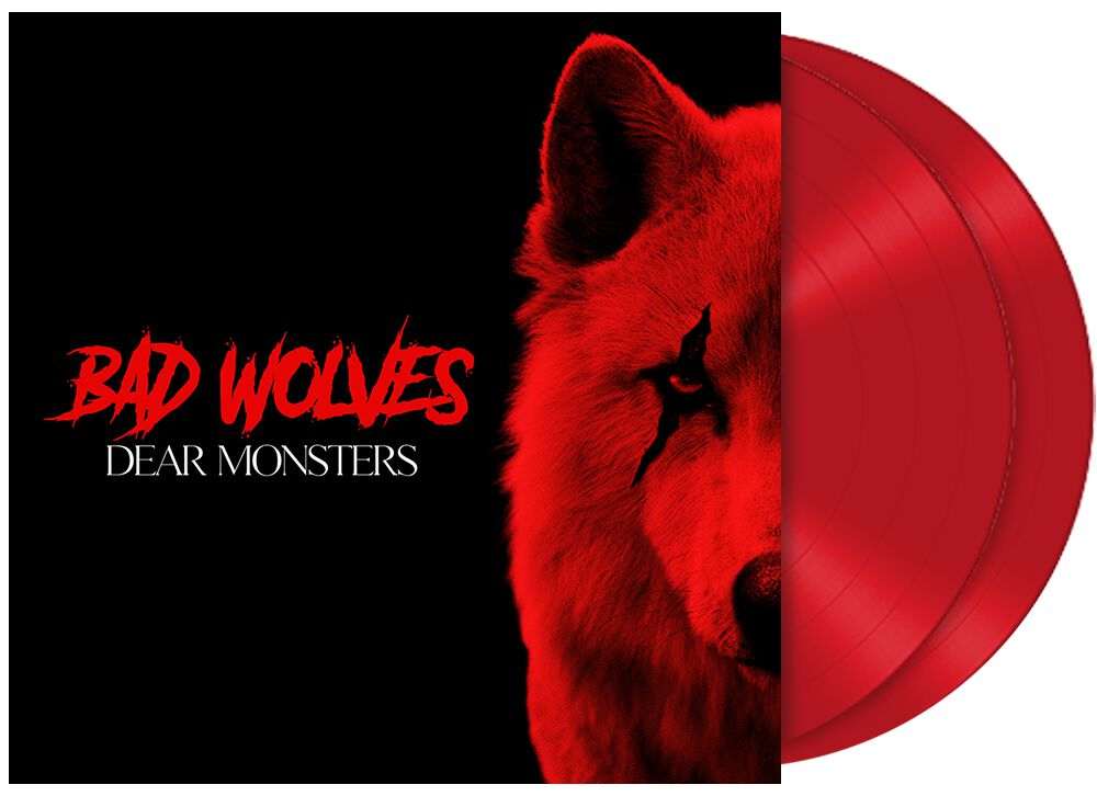 Image of Bad Wolves Dear Monsters 2-LP rot
