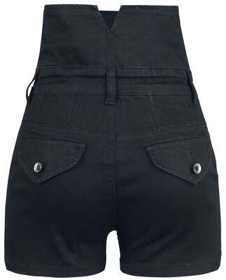 High Waist Denim Hot Pant