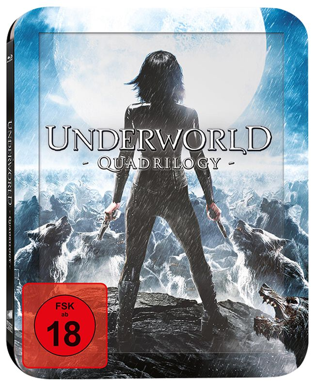 Underworld 1-4 (Quadrilogy)