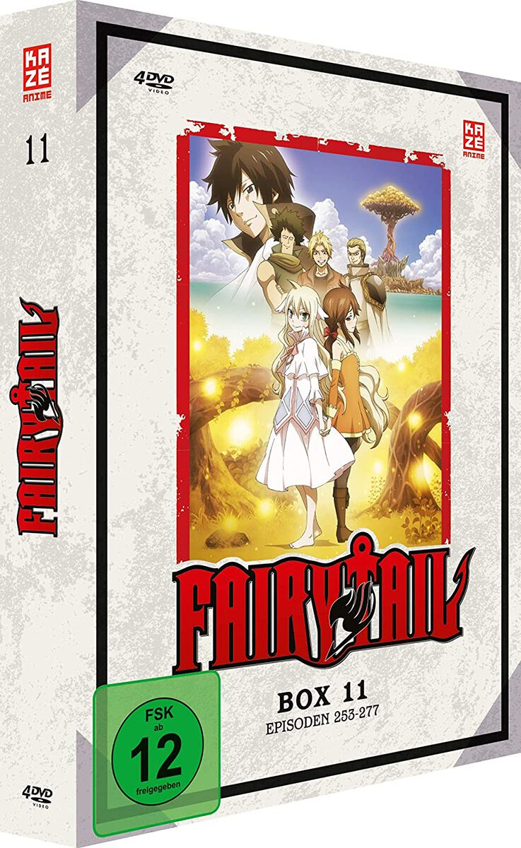 Image of Fairy Tail Box 11 - Episoden 253-277 4-DVD Standard