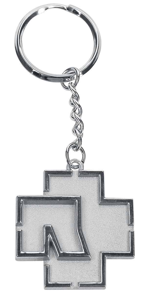 Rammstein - Rammstein Logo - Schlüsselanhänger - silberfarben