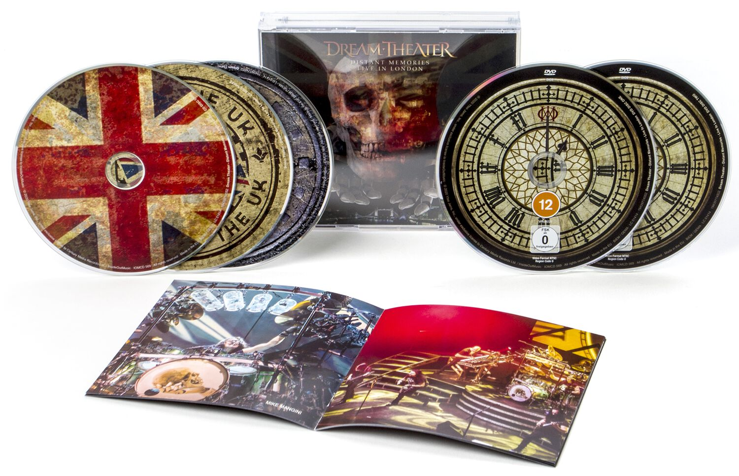 Image of Dream Theater Distant memories - Live in London 3-CD & 2-DVD Standard