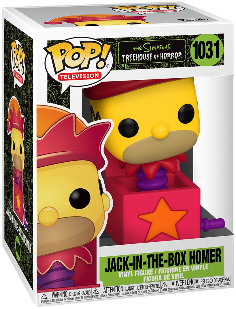 Die Simpsons Treehouse Of Horror - Jack-In-The-Box Homer 1031 powered by EMP