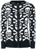 Skull And Bones Cardigan