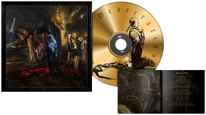 Image of Azarath Saint desecration CD Standard