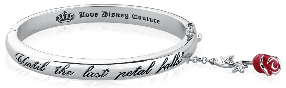 Disney by Couture Kingdom - Last Petal Falls Red Rose Bracelet