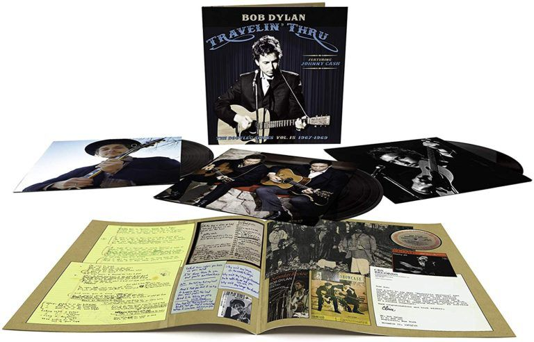 Image of Bob Dylan Travelin' thru, 1967-1969: The bootleg series V.15 3-LP Standard