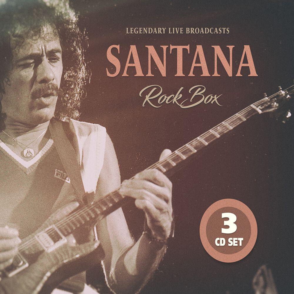 Image of Carlos Santana Rock box 3-CD Standard