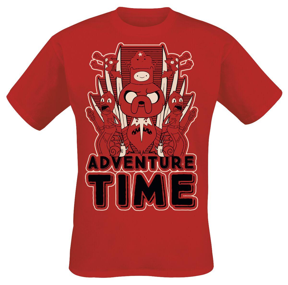 Mirror Image Adventure Time T Shirt Emp