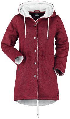 Mantel mit flauschigem Futter