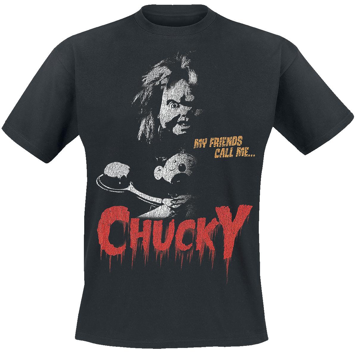 Chucky - My Friends Call Me Chucky - T-Shirt - black image