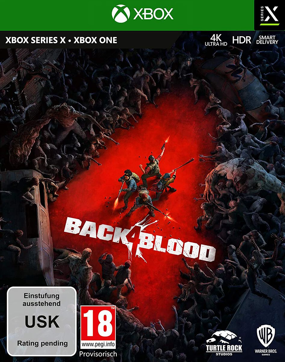 Back 4 Blood Back 4 Blood  Xbox One  Standard
