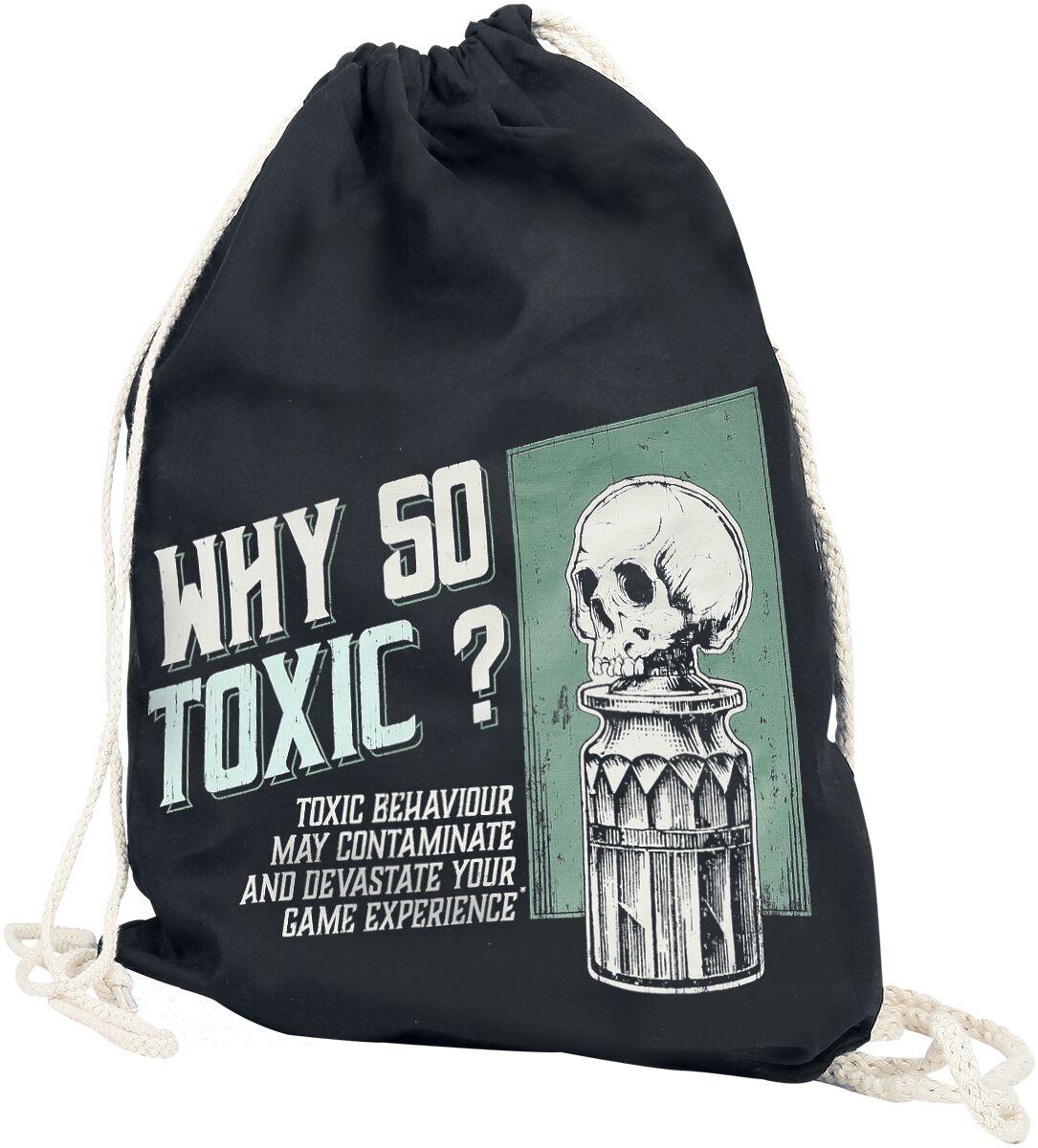 Sporttaschen - Why So Toxic Turnbeutel schwarz  - Onlineshop EMP