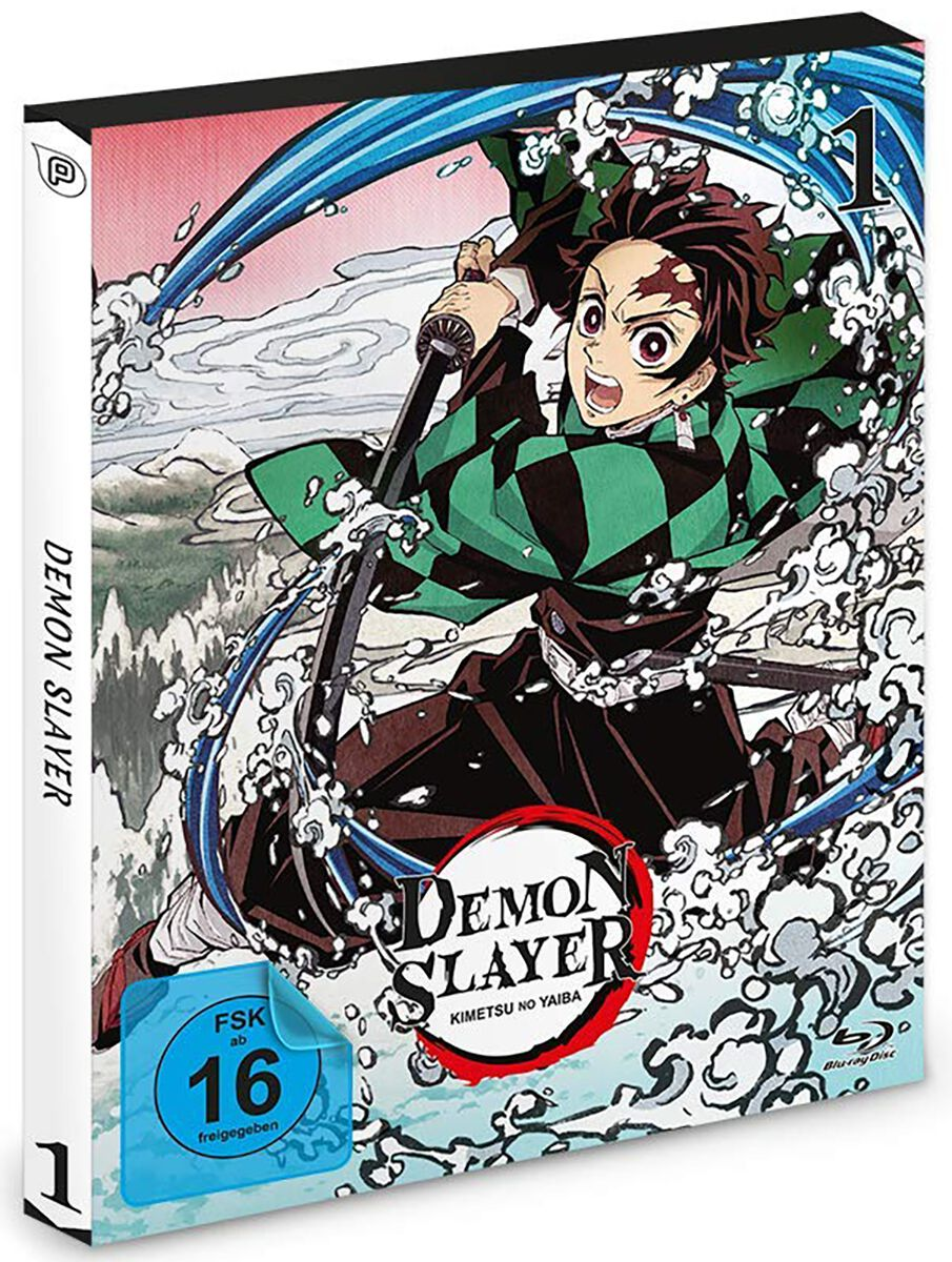 Demon Slayer  Staffel 1 Vol.1  Blu-ray  Standard