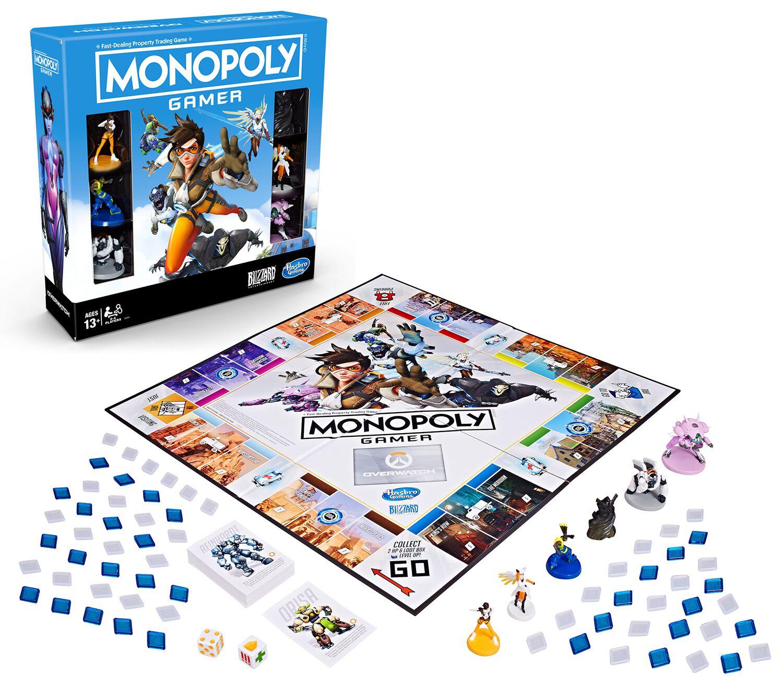 Image of Overwatch Monopoly Brettspiel Standard