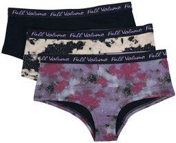 Mehrfarbiges Panty-Set mit Galaxy-Muster