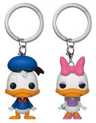 Donald & Daisy - POP! Keychain 2-Pack