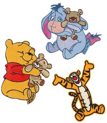 Winnie The Pooh Patch-Set