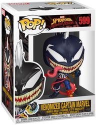 Maximum Venom - Venomized Captain Marvel Vinyl Figur 599