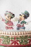 Micky und Minnie - Schneekugel