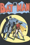 Batman And Robin - Vintage Cover