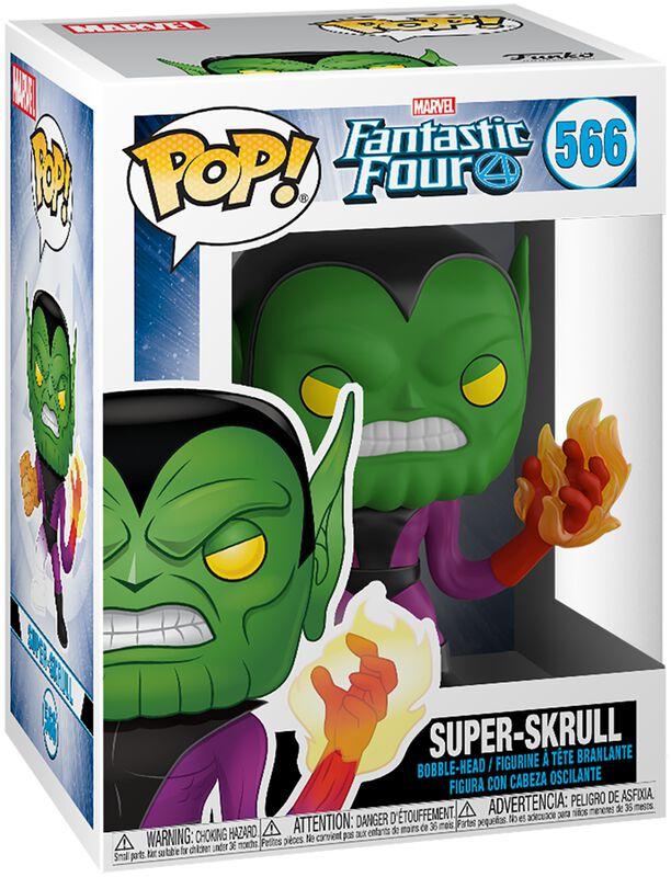 Super-Skrull Vinyl Figur 566