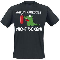 Warum Krokodile nicht boxen