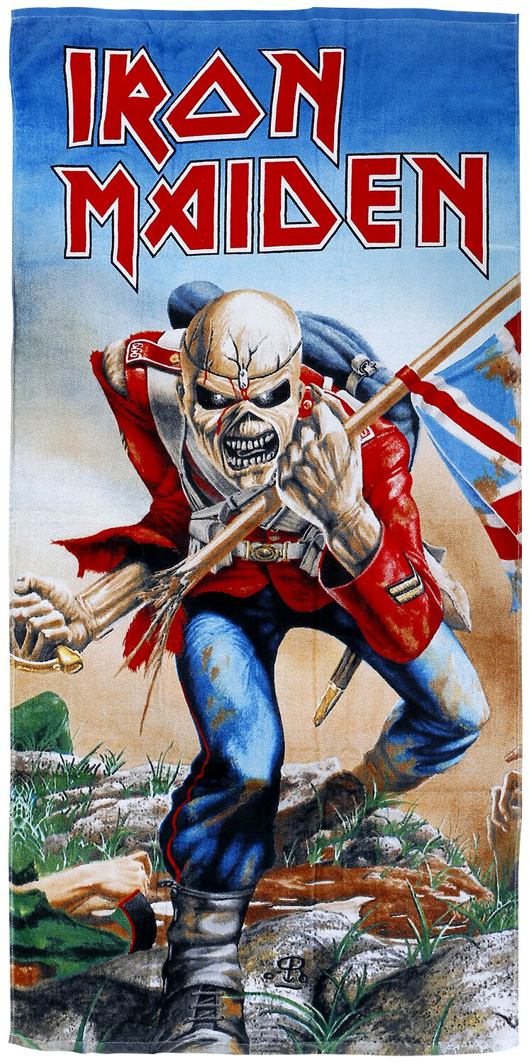 Image of Iron Maiden The trooper Badetuch Standard