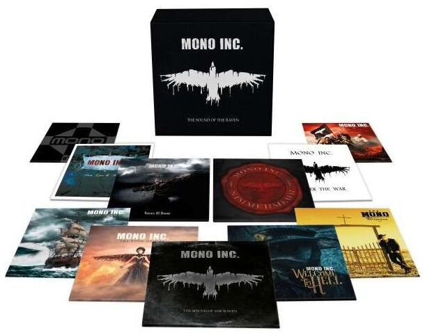 Image of Mono Inc. The sound of the raven 11-LP Standard