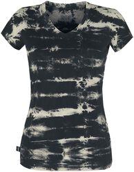 T-Shirt im Batik Look Black Premium