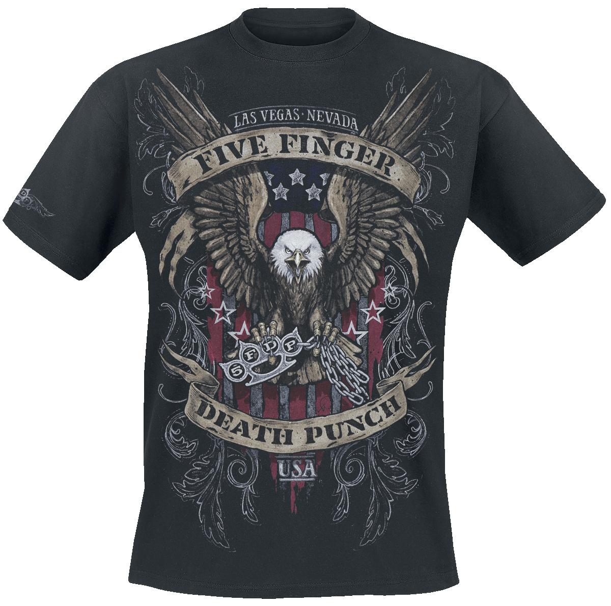 Five Finger Death Punch - Eagle Color - T-Shirt - black image