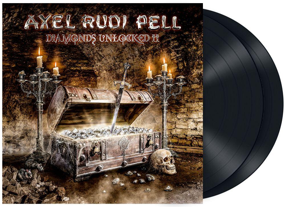 Image of Axel Rudi Pell Diamonds unlocked II 2-LP schwarz