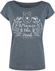 Winnie The Pooh Logo - Floral