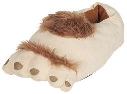 Hausschuhe Haarige Füße
