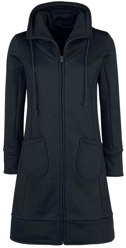 High Neck Sweat Coat