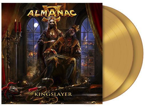 Image of Almanac Kingslayer 2-LP goldfarben