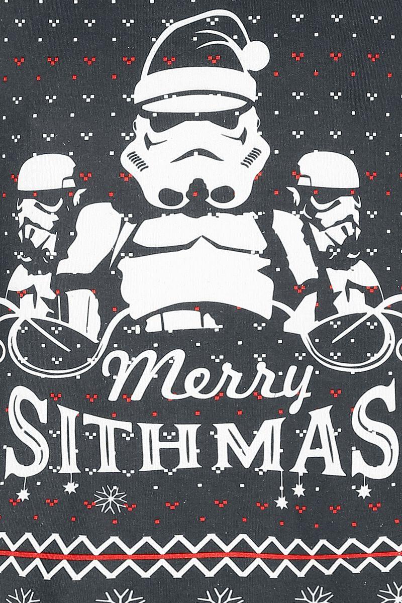 merry sithmas star wars weihnachtspullover emp. Black Bedroom Furniture Sets. Home Design Ideas