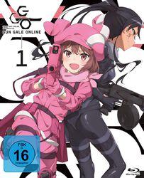 Sword Art Online Alternative: Gun Gale Online Blu-ray 1